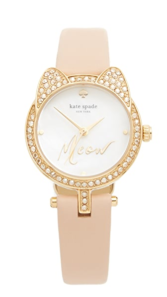 Kate Spade New York Meow Watch - Gold at Shopbop