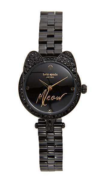 Kate Spade New York Meow Watch - Black at Shopbop