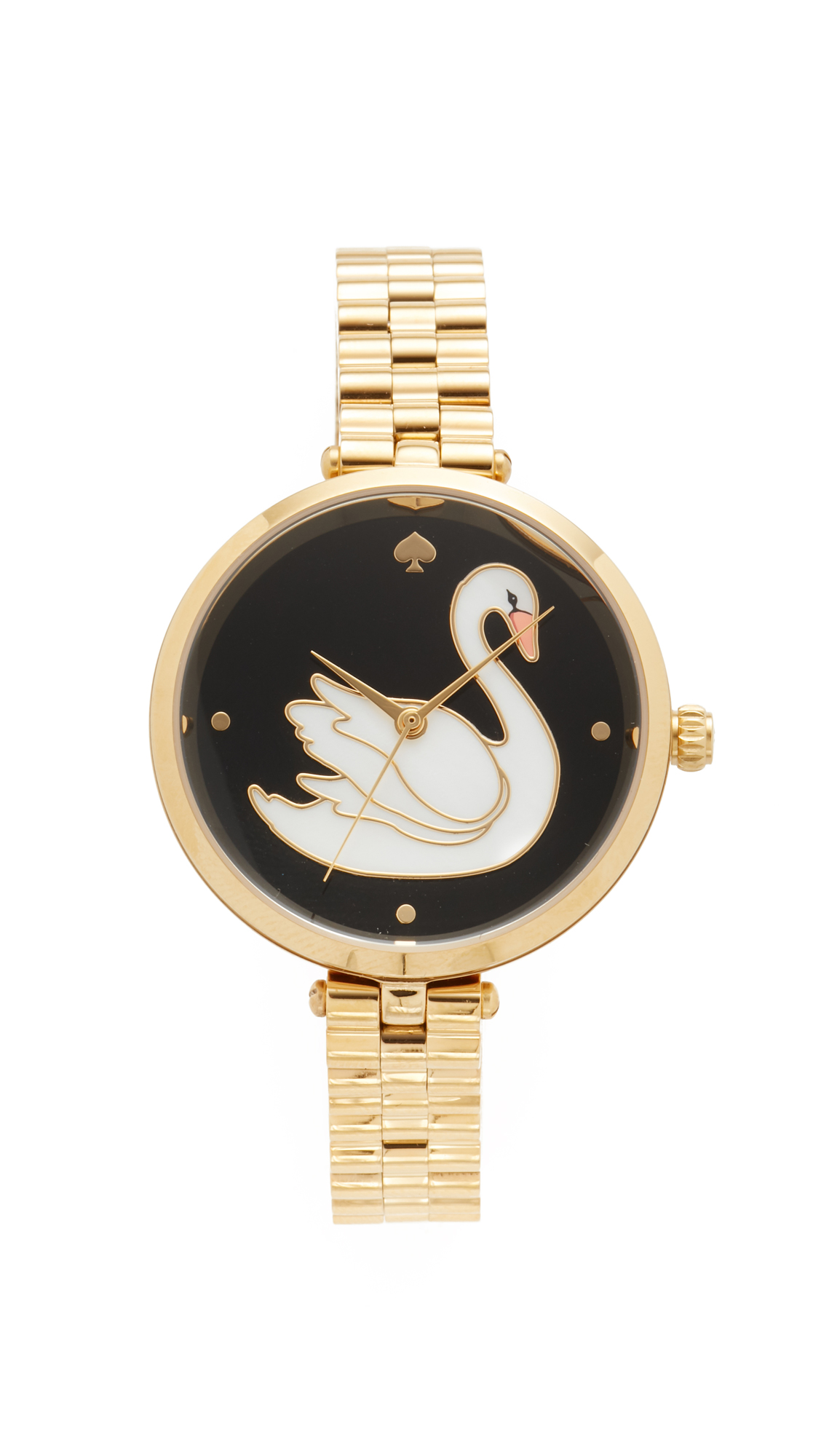 Kate Spade New York Swan Watch - Gold at Shopbop