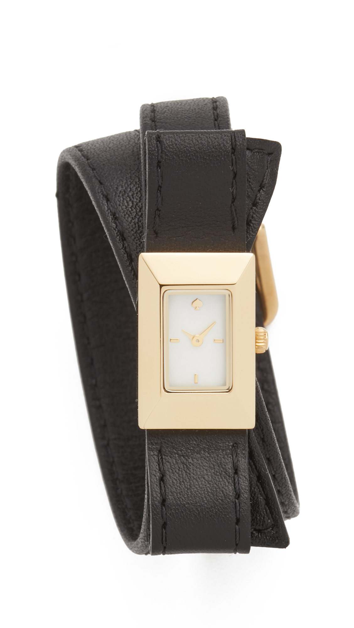 Kate Spade New York Kenmare Double Wrap Watch - Gold at Shopbop