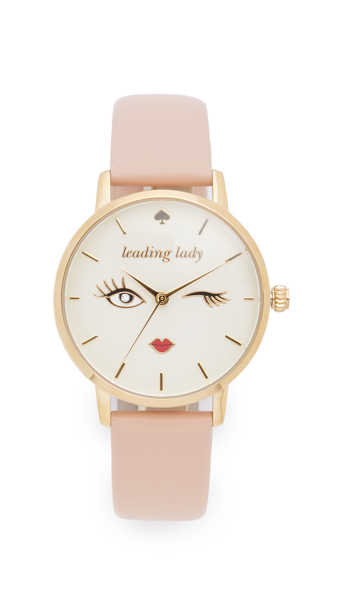 Kate Spade New York Metro Leading Lady Watch - Gold at Shopbop