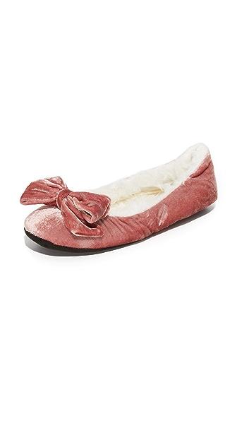 Kate Spade New York Scarlett Bow Slippers