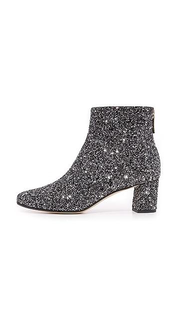 Kate Spade New York Tal Glitter Booties