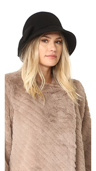 Kate Spade New York Flat Top Cloche Hat