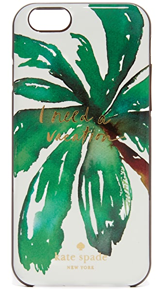 Kate Spade New York I Need A Vacation iPhone 6 / 6s Case