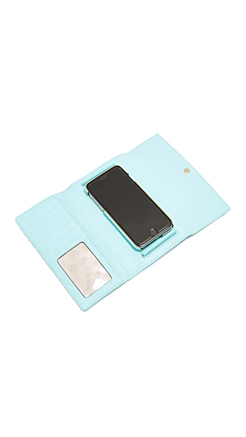 Kate Spade New York Leather iPhone 6 / 6s Phone Wallet
