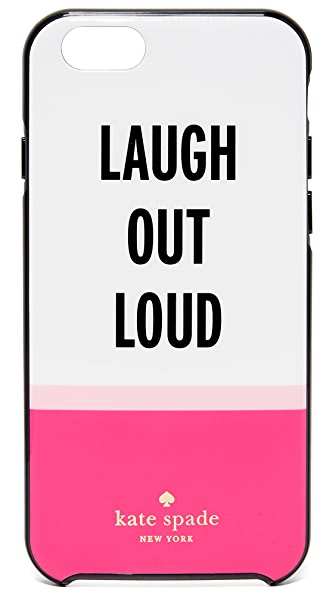 Kate Spade New York Laugh Out Loud iPhone 6 / 6s Case