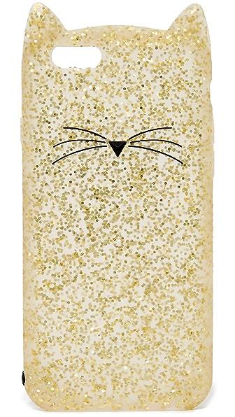 Kate Spade New York Glitter Cat iPhone 6 / 6s Case