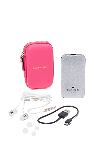 Kate Spade New York Keep It Together Tech Gift Set