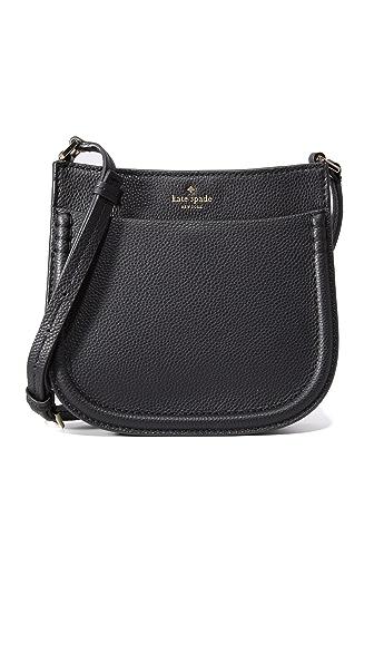 Kate Spade New York Small Hemsley Cross Body Bag - Black