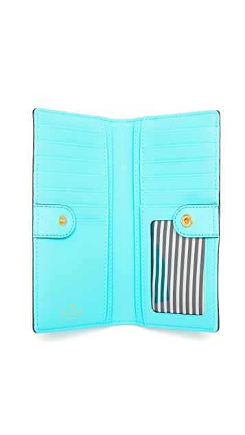 Kate Spade New York Stacy Snap Wallet