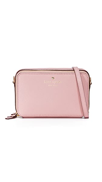 Kate Spade New York Carine Cross Body Bag - Pink Bonnet