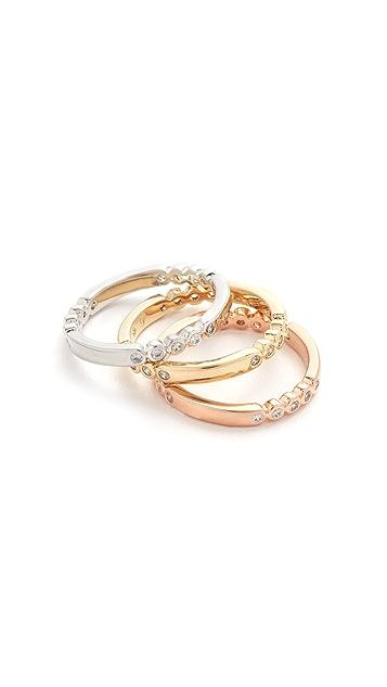 Kate Spade New York Full Circle Stackable Ring Set