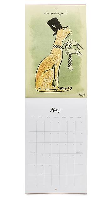 Kate Spade New York Wall Calendar