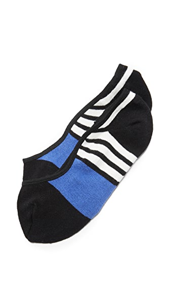 Kate Spade New York Scuba Stripes Liner Socks