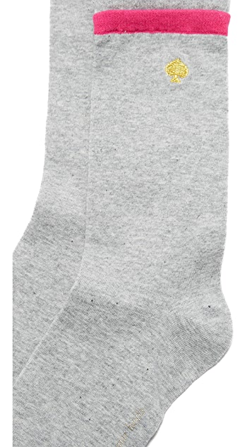 Kate Spade New York Layered Welt Socks