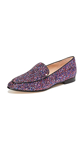 Kate Spade New York Calliope Glitter Flats - Purple Multi Glitter