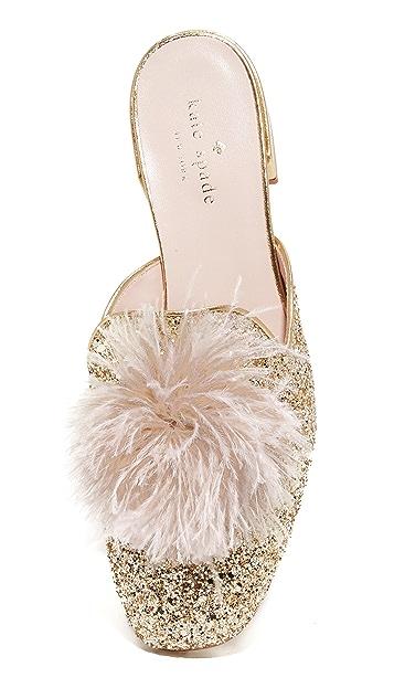 Kate Spade New York Gala Glitter Mules