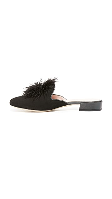Kate Spade New York Gala Suede Mules