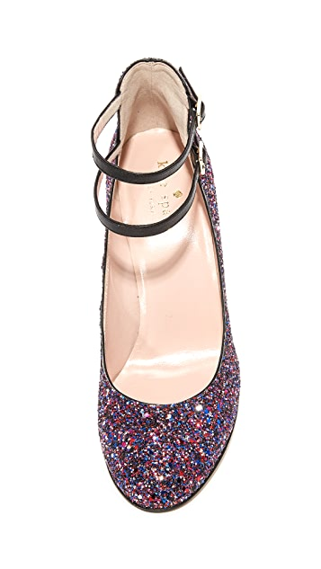 Kate Spade New York Baneera Glitter Pumps