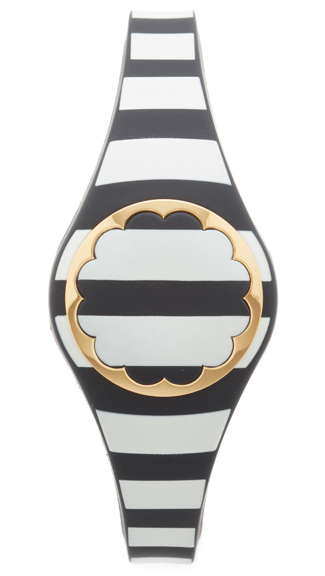 Kate Spade New York Stripe Tracker - Black/Cream at Shopbop