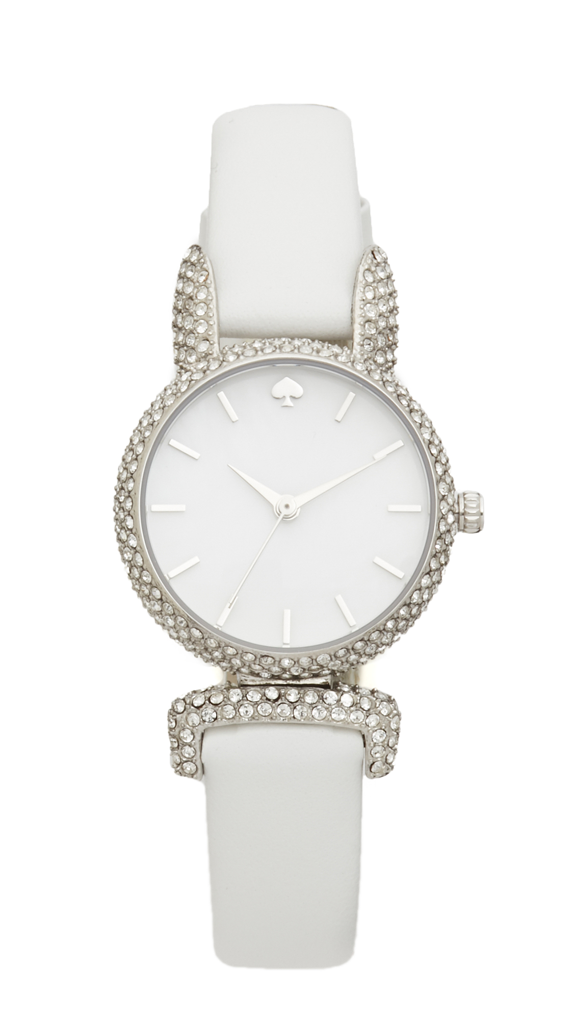 Kate Spade New York Novelty Watch - White/Stainless at Shopbop