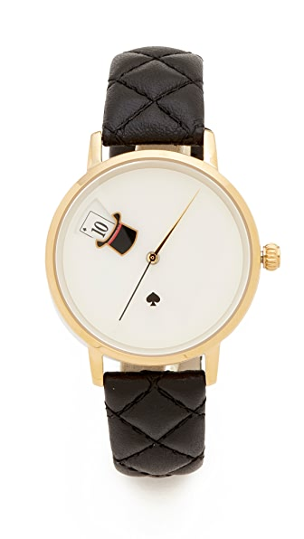 Kate Spade New York Magic Hat Quilted Metro Watch at Shopbop