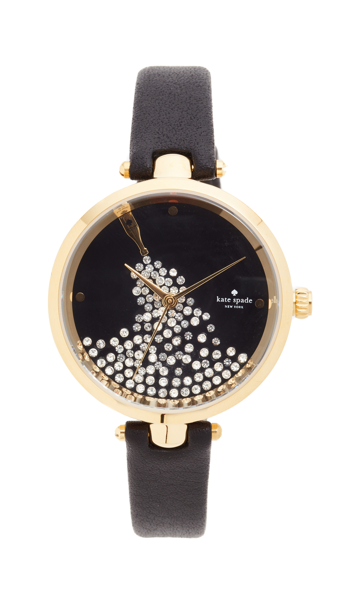 Kate Spade New York Holland Novelty Watch - Black/Gold at Shopbop