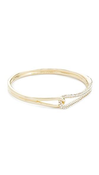 Kate Spade New York Get Connected Pave Loop Bangle