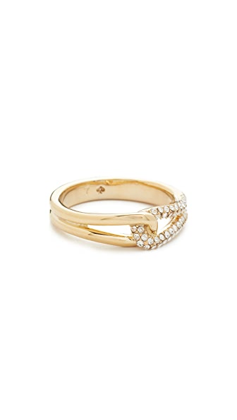 Kate Spade New York Get Connected Pave Loop Ring