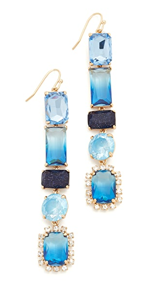 Kate Spade New York Color Crush Linear Earrings