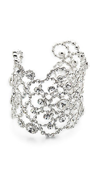 Kate Spade New York Crystal Lace Cuff Bracelet