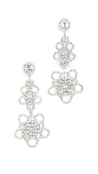 Kate Spade New York Crystal Lace Linear Earrings