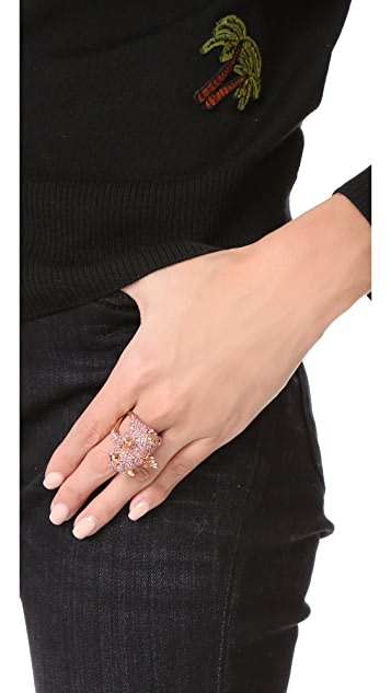 Kate Spade New York Imagination Pave Pig Ring