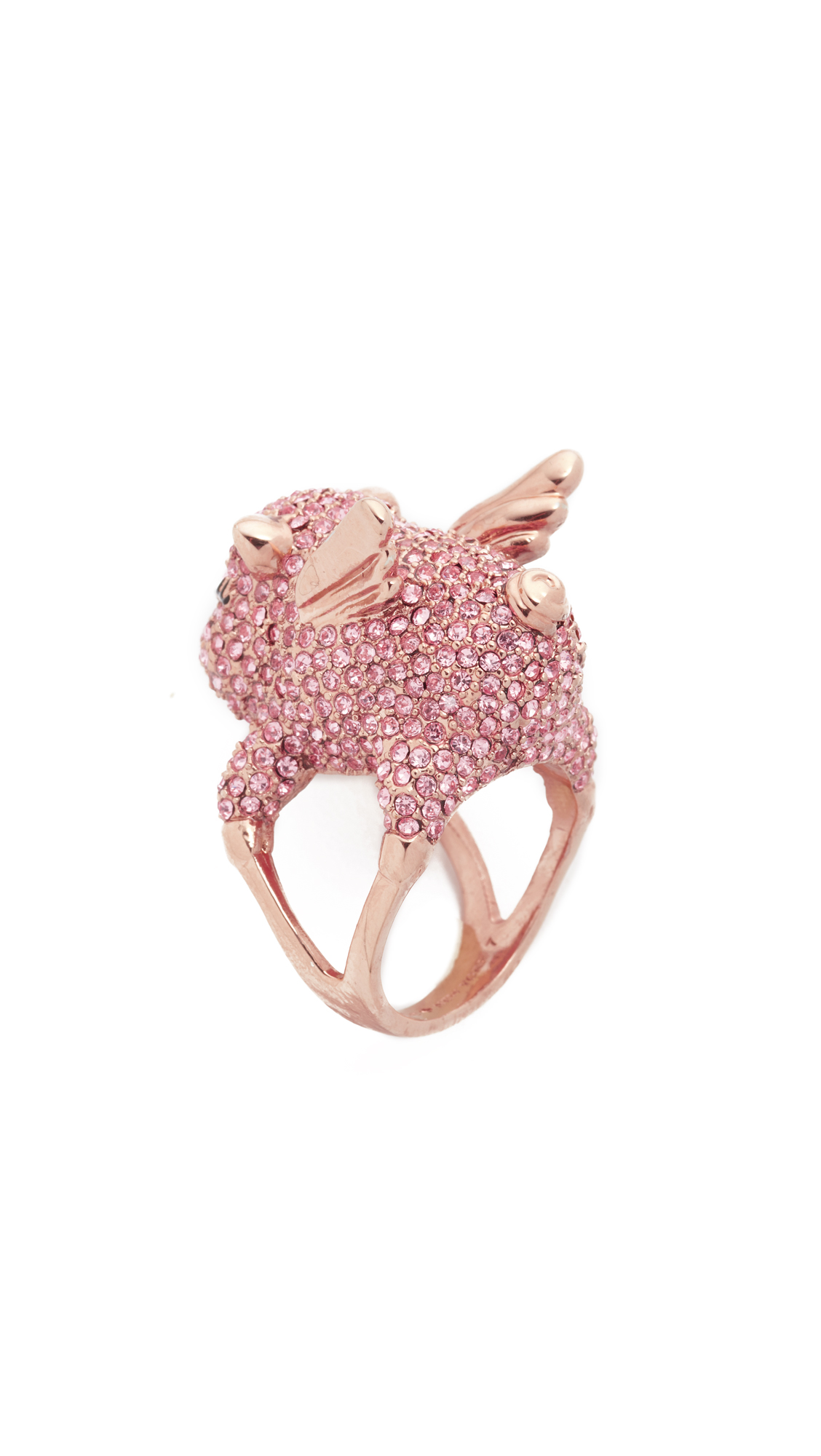 Kate Spade New York Imagination Pave Pig Ring | SHOPBOP