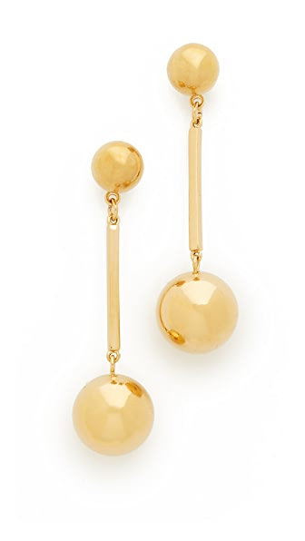 Kate Spade New York Ring It Up Linear Drop Earrings