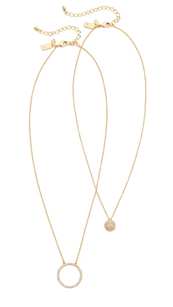 Kate Spade New York Ring It Up Necklace Set