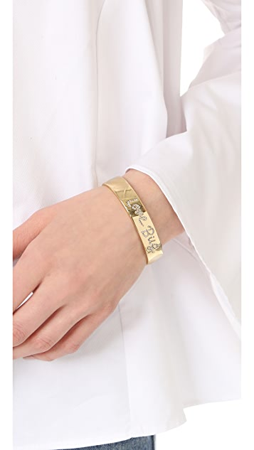 Kate Spade New York Be Mine Pave Love Cuff Bracelet