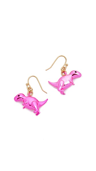 Kate Spade New York Whimsies T-Rex Drop Earrings