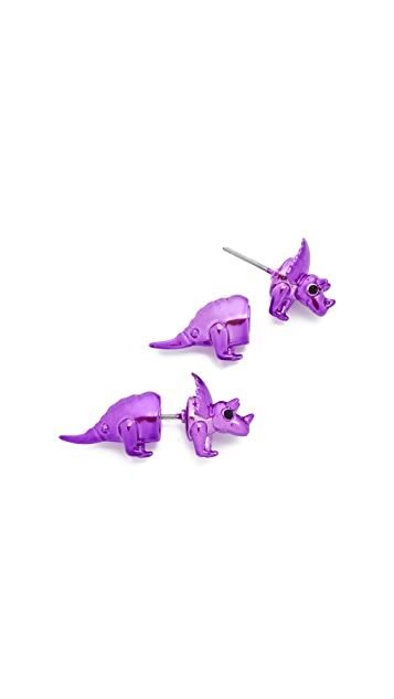 Kate Spade New York Whimsies Triceratops Ear Jackets