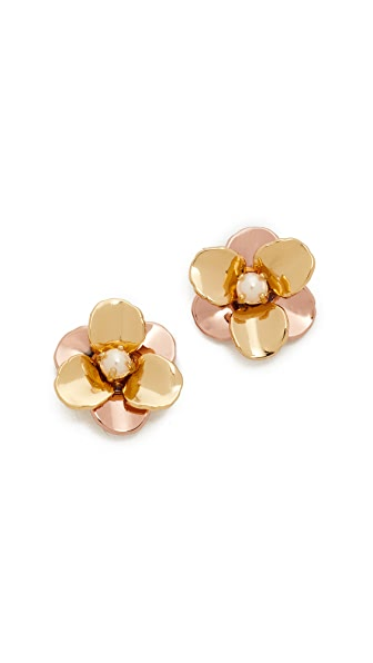 Kate Spade New York Pick a Posy Small Stud Earrings