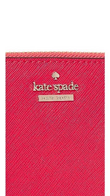 Kate Spade New York Lacey Zip Around Wallet