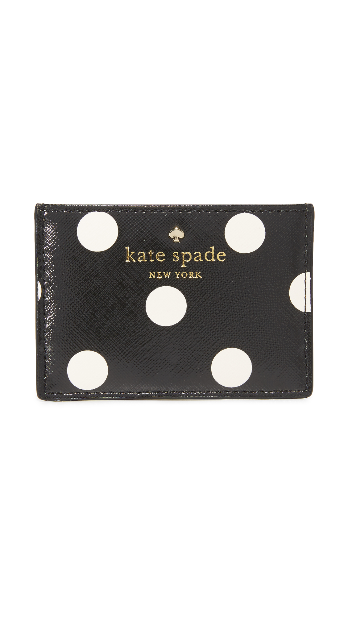 Kate Spade New York Cedar Dot Card Holder | SHOPBOP