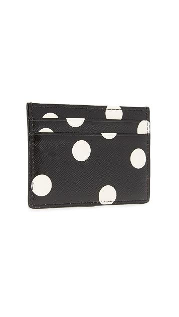 Kate Spade New York Cedar Dot Card Holder