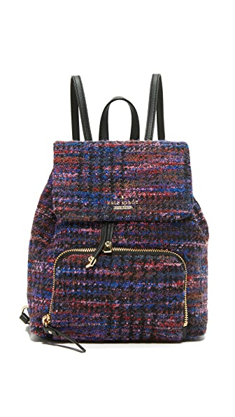 Kate Spade New York Jessa Tweed Backpack at Shopbop
