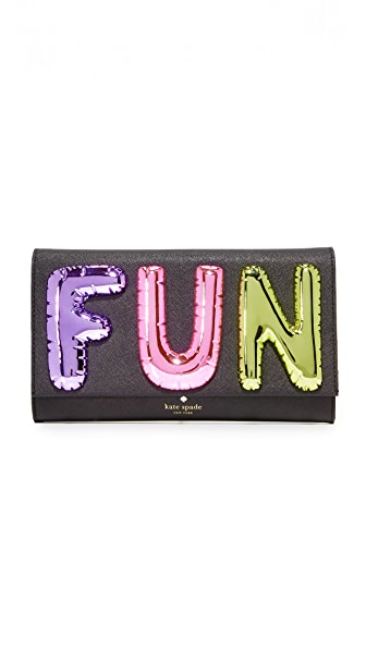 Kate Spade New York Fun Balloon Clutch