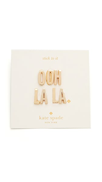 Kate Spade New York Ashe Place Ooh La La Sticker