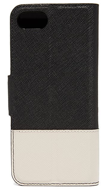 Kate Spade New York Leather Wrap Folio iPhone 7 Case