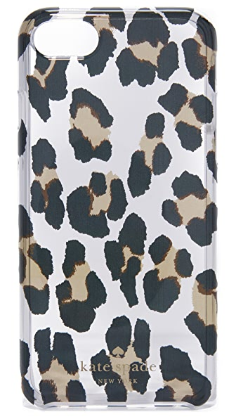 Kate Spade New York Leopard Clear iPhone 7 Case - Clear Multi