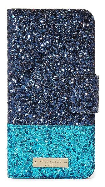 Kate Spade New York Skyline Leather Wrap Folio iPhone 7 Case